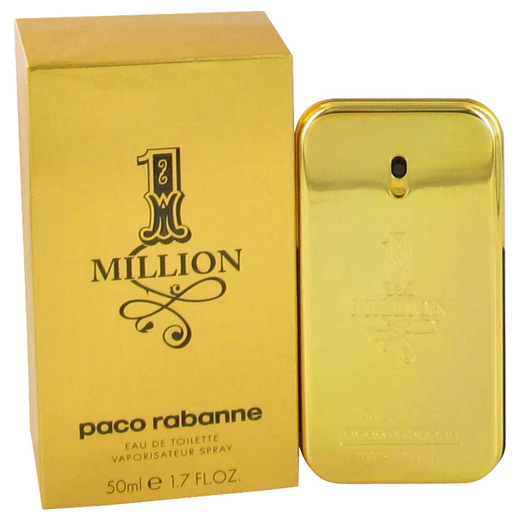 1 Million Cologne by Paco Rabanne 50 ml Eau De Toilette Spray - Free Delivery