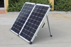 80 Watt Folding Portable Solar Panel Kit