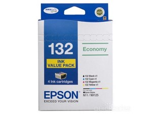 Epson Genuine 132 Ink Cartridges Value Combo Pack