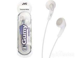 JVC Gumy Coconut White In-ear Headphones HA-F140-WN Headphones